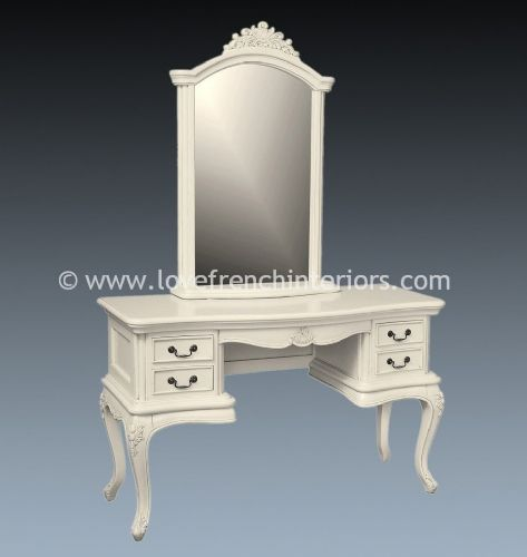 Candice Dressing Table in Antique White